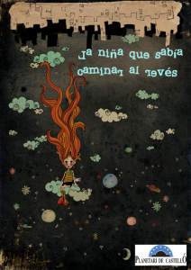Proyección La niña que sabía caminar del revés. Planetario Castellón