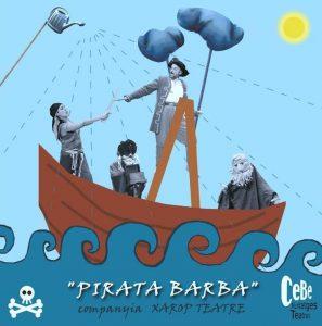 Teatro infantil Pirata Barba de Xarop teatre