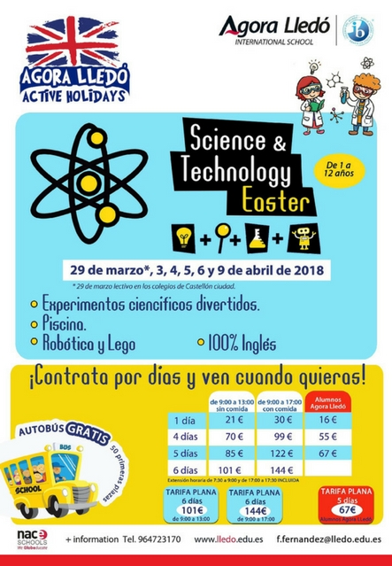 Science & Technology Easter 2018 Agora Lledó