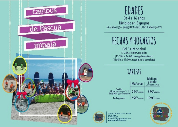Campus de Pascua 2018 Impala