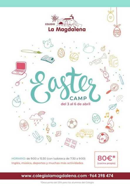 Easter Camp 2018 Colegio La Magdalena