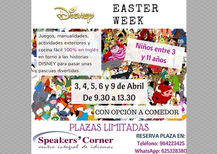 Easter Week 2018 Speaker's Corner