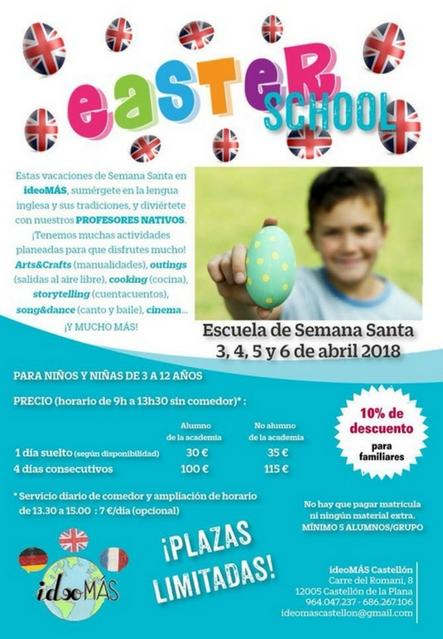 Easter School 2018 IdeoMás
