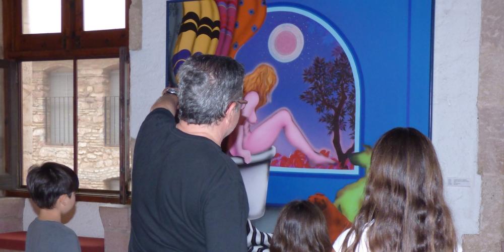 Disfruta del arte en familia en el MACVAC. ¡NUEVA PROGRAMACIÓN!