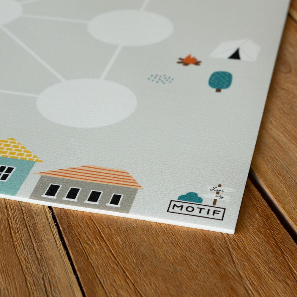 Juegos de mesa y suelo Motif_3 en raya