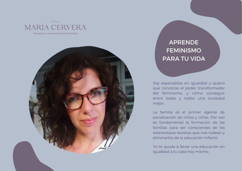 Aprende feminismo con María Cervera