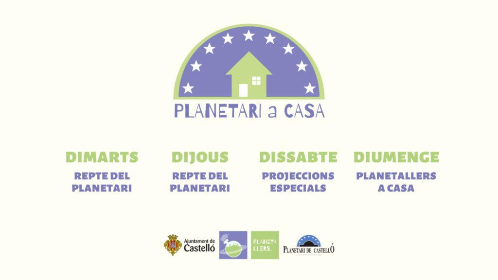 Actividades del Planetario de Castellón durante el coronavirs