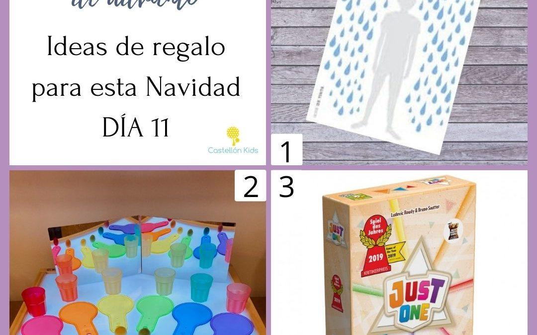 DÍA 11 Recomendario de adviento. Ideas de regalos #deCastellón