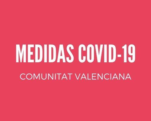 medidas covid-19 comunitat valenciana